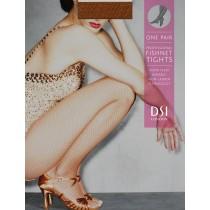 DSI ciorapi fishnet plasa bronz inchis