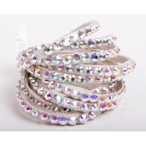 Bratari cu cristale Swarovski - Crystal AB