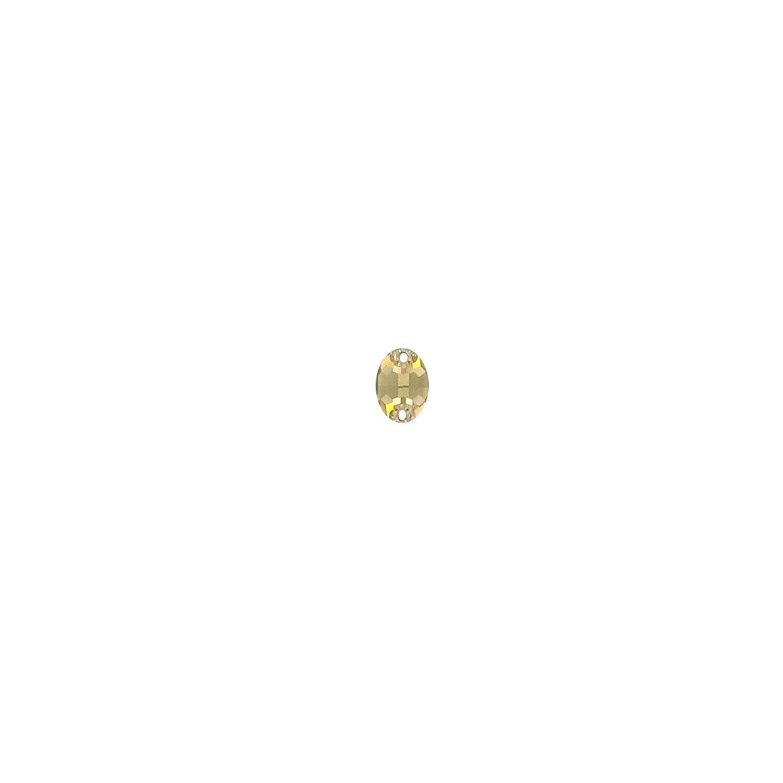 Swarovski de cusut oval light colorado topaz 10mm