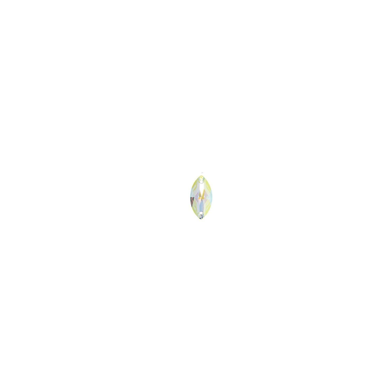 Swarovski de cusut migdala crystal ab 12mm