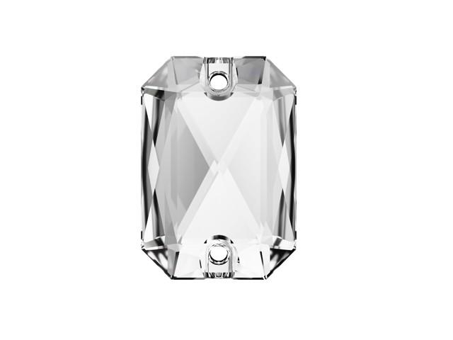 Swarovski de cusut dreptunghi taiat Crystal 28mm