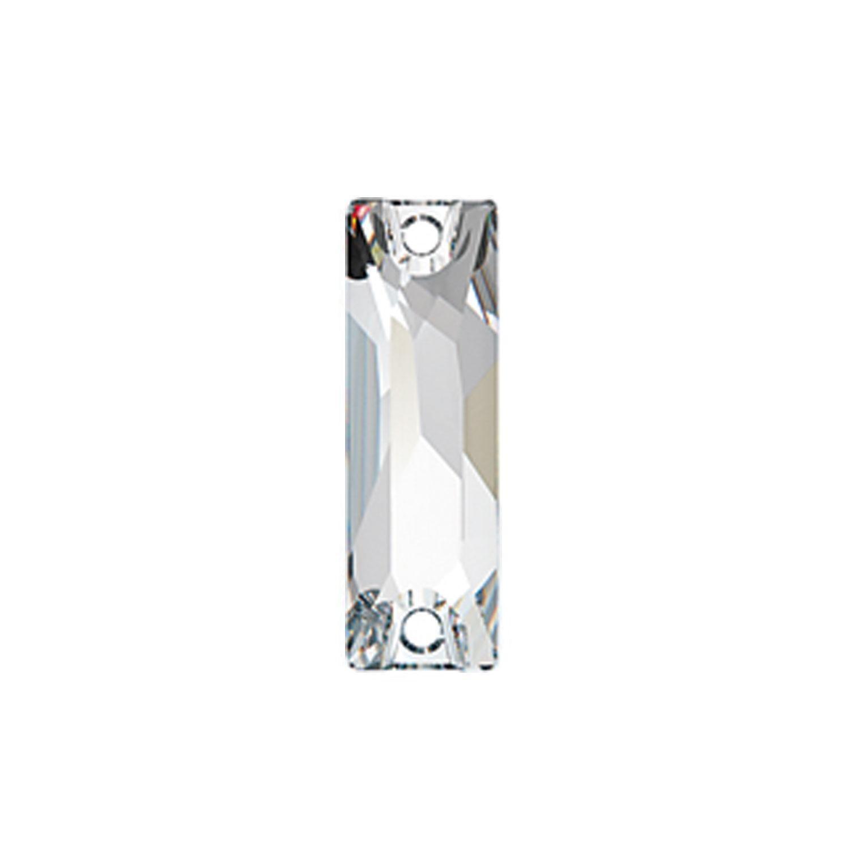 Swarovski de cusut dreptunghi cosmic  Crystal 26mm