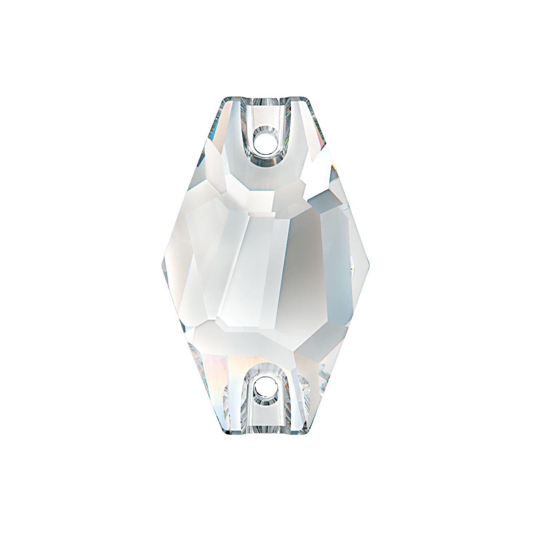 Swarovski de cusut hexagon Crystal 28mm