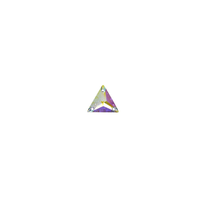 Swarovski de cusut triunghi crystal ab 16mm