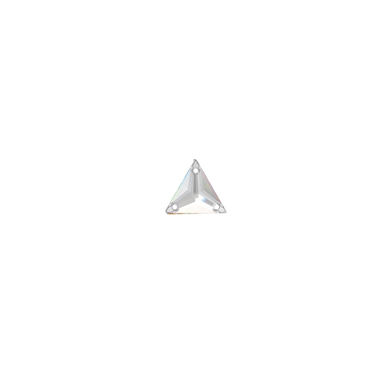 Swarovski de cusut triunghi crystal 16mm