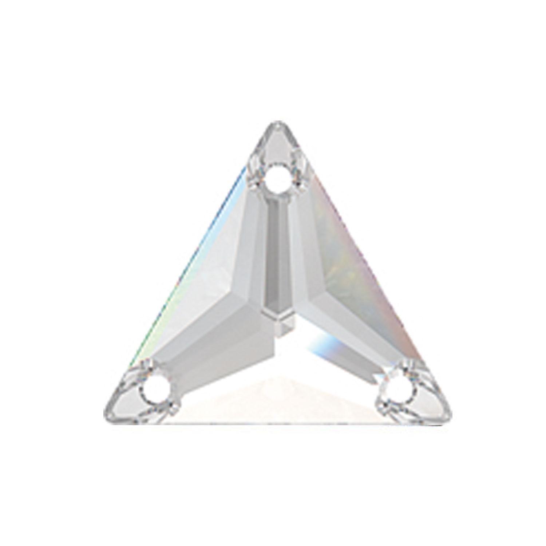 Swarovski de cusut triunghi crystal 22mm
