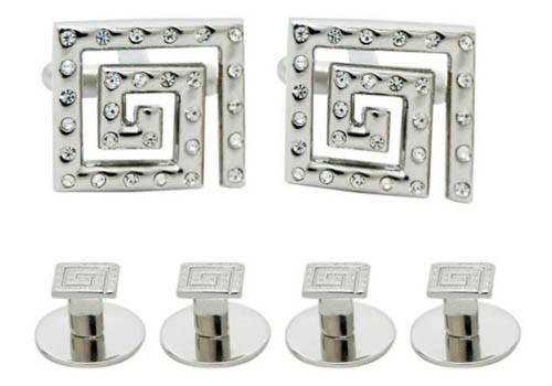 Set butoni cristale