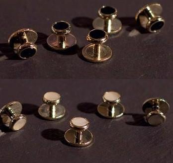 Butoni aurii camasa - 5 buc