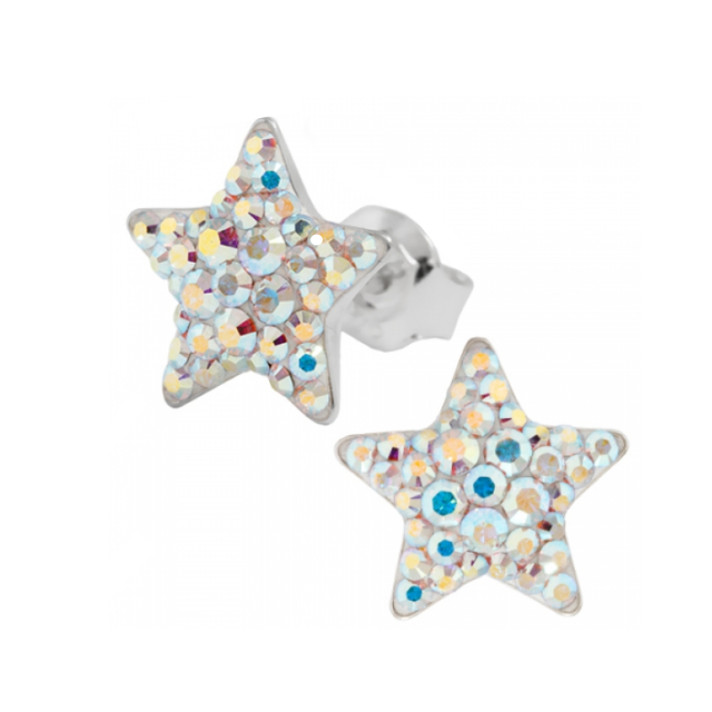 Cercei Swarovski Chaton Star