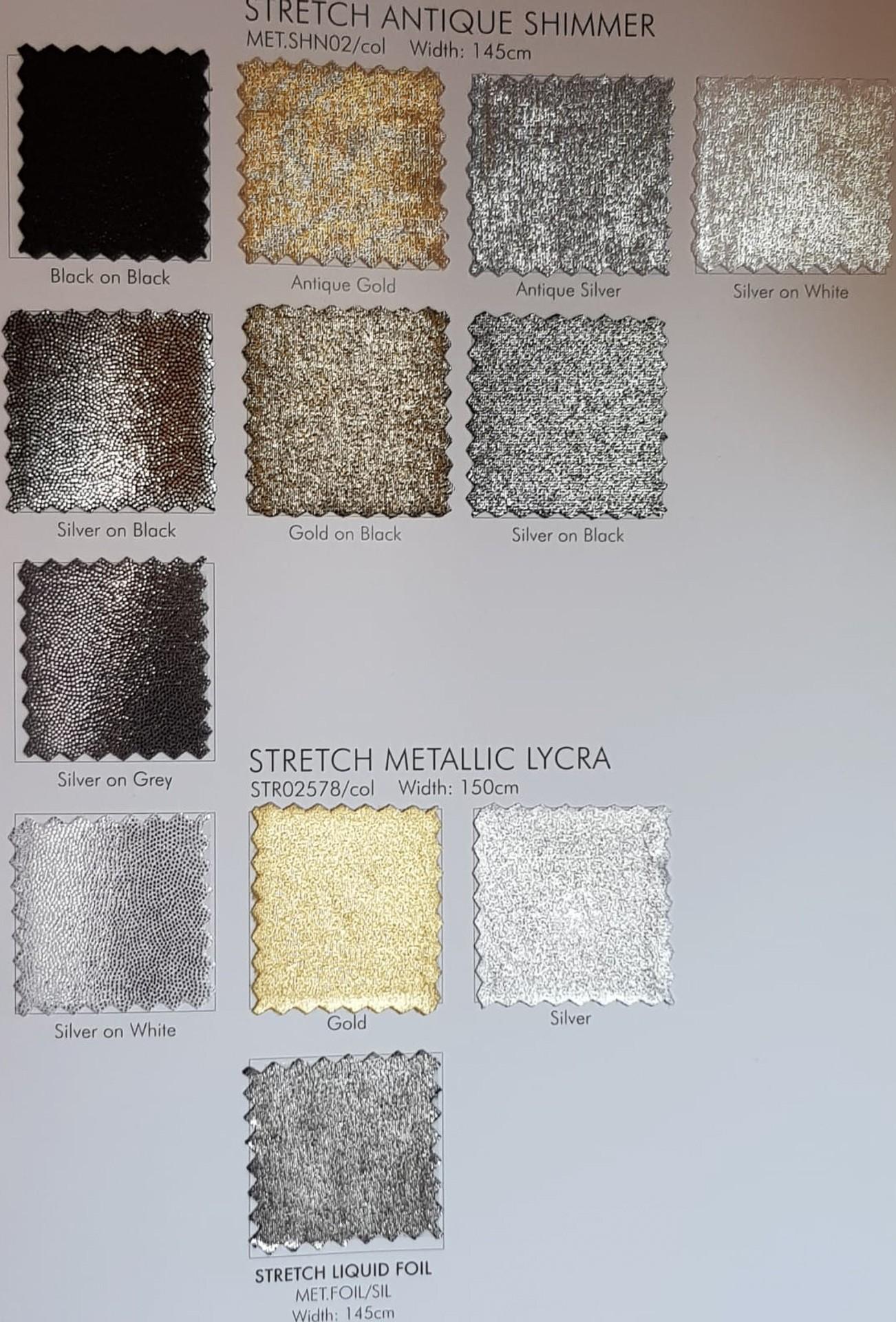 Lycra metalic 2