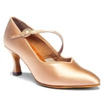 ICS Superstrap Saten Culoarea Pielii International Dance Shoes